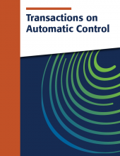 Transactions on Automatic Control cover