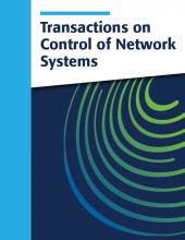 Transactions on Control of Network Systems cover